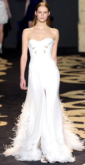 Wedding Dress Versace Mermaid Style 2011 Autumn Winter