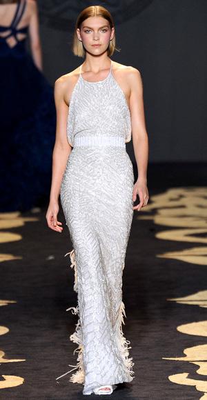 Wedding Dress, Oscar Style, Versace, 2011