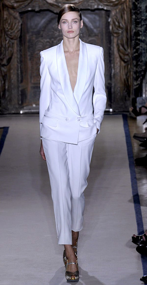 Yves Saint Laurant, Women's Wedding Suit, 2011