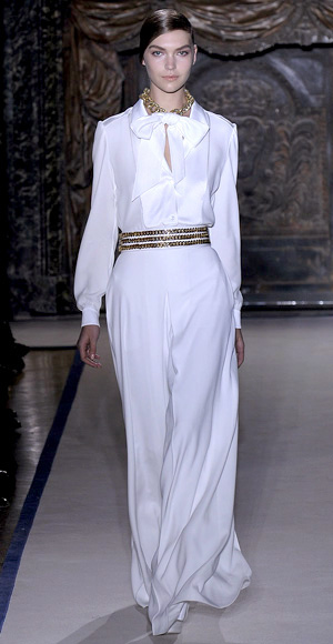 YSL, Wedding Dress,2011