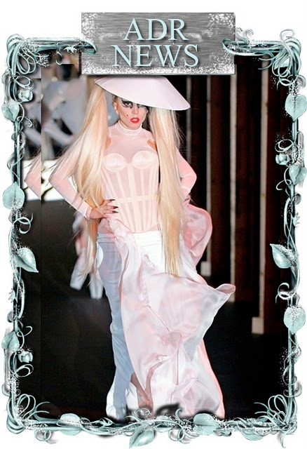 Lady Gaga, Wedding Dress, Mugler