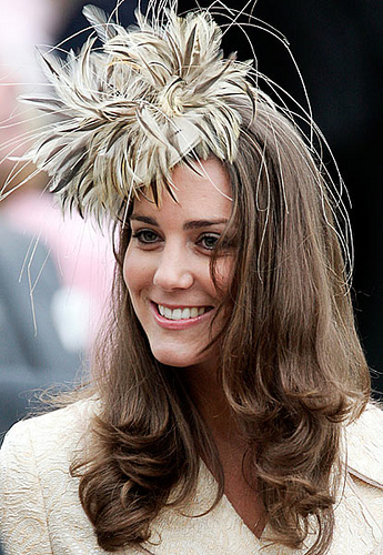 Kate Middleton Feather Hat