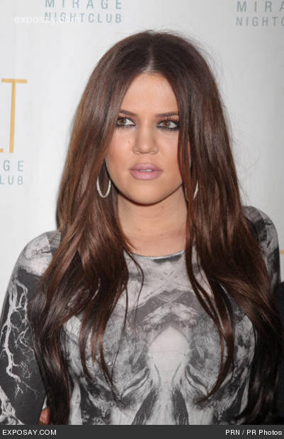 Khloe Kardashian Hair and makeup