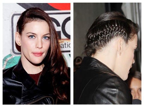 Liv Tyler hair Makeup