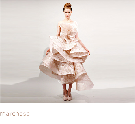 Marchesa, Wedding Dress, Raffles New Style,2011