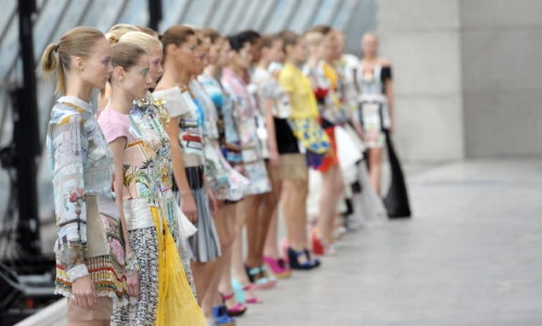 Mary Katrantzou Dresses Runway  Spring- Summer 2011