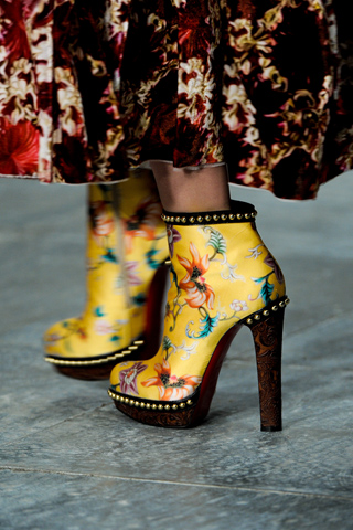 Mary Katrantzou and Christian Louboutin Shoes