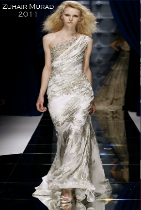 Vintage beading wedding gown by Zuhair Murad
