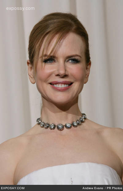 Nicole Kidman hair and makeup
