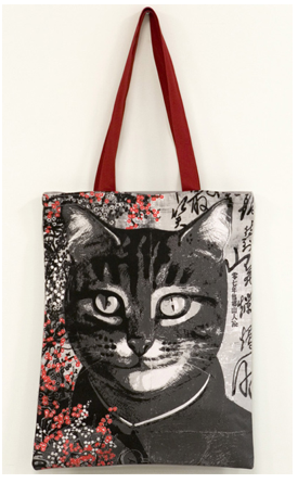 Shopping bag 'Portrait of Mao' by Qiu Jie