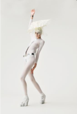 Fashion Forward White Costume