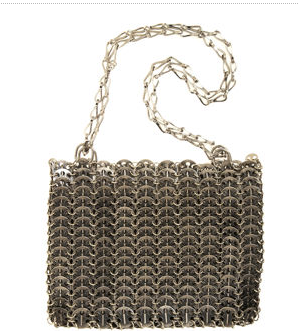 Paco Rabanne Chain Metal Bag