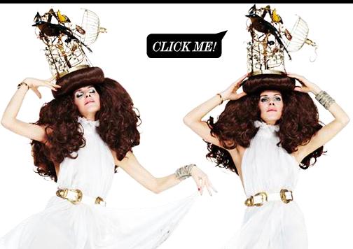 Anna Dello Russo Birdcage Crazy Hat, net a porte
