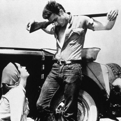 Elizabeth Taylor, James Dean, Τζην