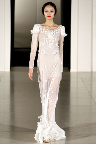 Wedding Gown, Temperley fall '11