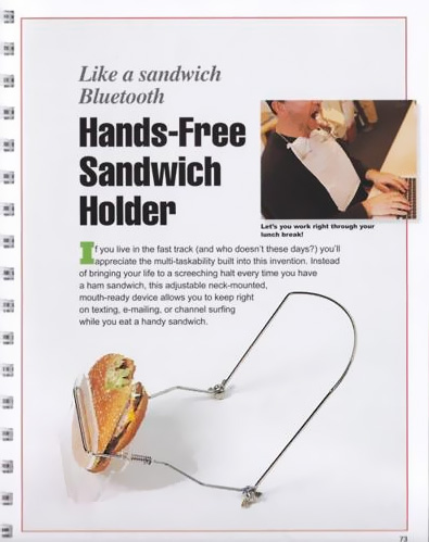 Sandwich Holder Men Present