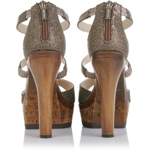 Jimmy Choo, wood heel
