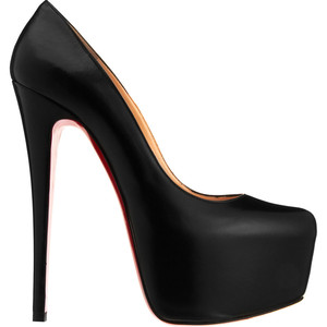 Stiletto Black High heel Louboutin, 2011
