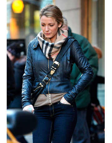 Blake Lively Street Style Winter