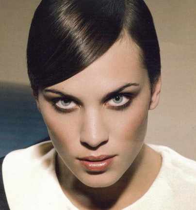 Alexa Chung hair and make-up