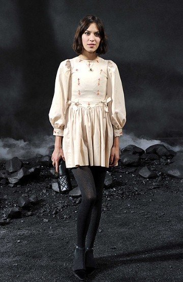 Alexa Chung dress