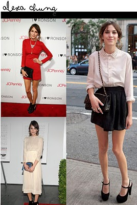 alexa chung outfits