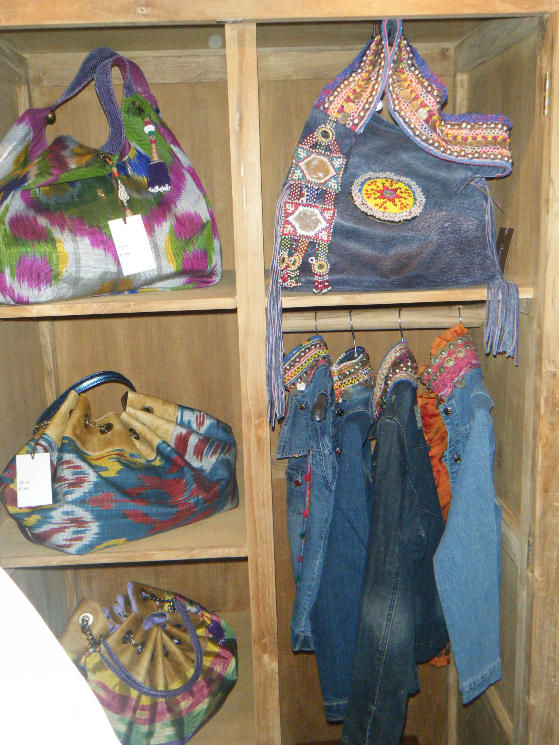 Dimitris Dassios Handbags and Jean Embelished Jackets