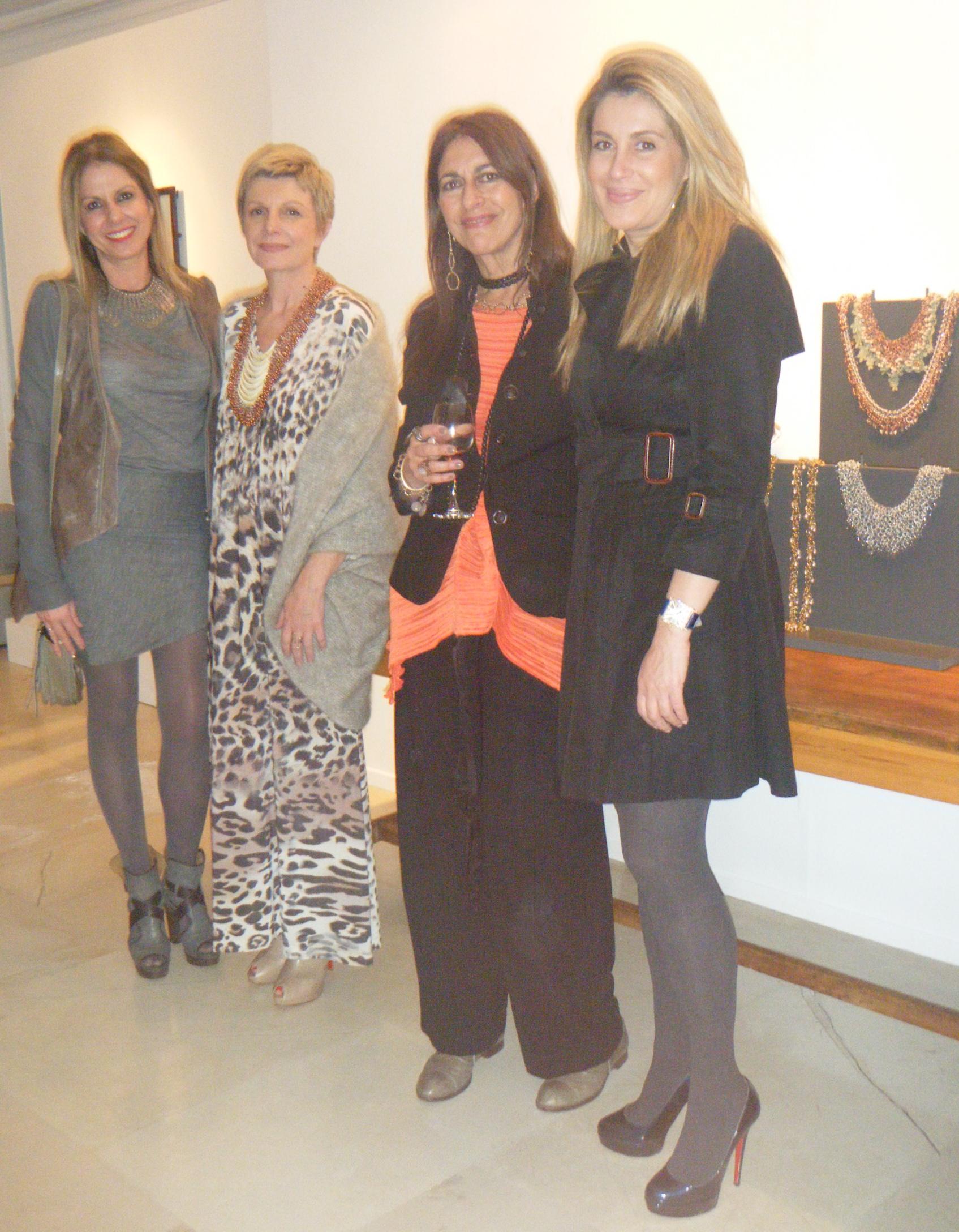 Nina Papaioannou, Maria Mastori, Maria Xanthakou and Alkistis Prinou