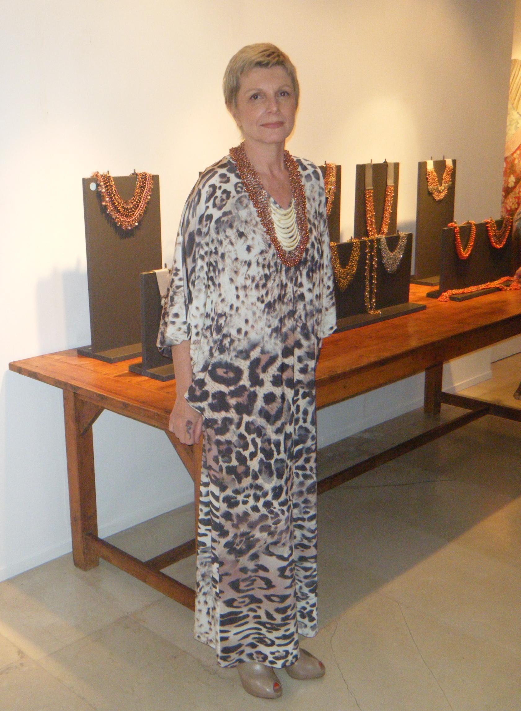 Maria Mastori and her Jewelry