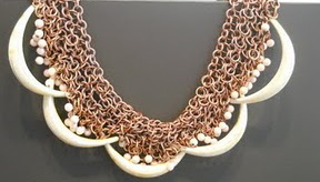 Maria Mastori necklace tribal