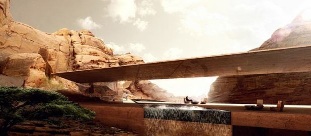 desert-lodges jordan hotel luxury