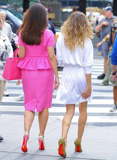 116bb1d749d3 Red Carpet Celebrity Fashion Trend- 60 Christian Louboutin Shoes ...