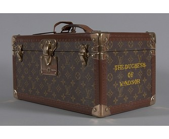 The Duchess of Windsdor's Louis Vuitton vanity case