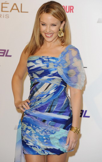 Kaily Minogue, celebrity wearing Ilias Lalaounis Greek Jewelry