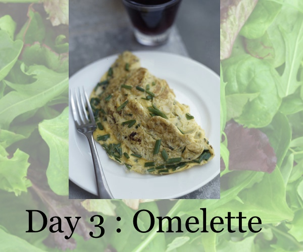 diet day 3, omelette, collage trendsurvivor