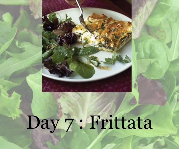diet day 7, frittata, collage trendsurvivor