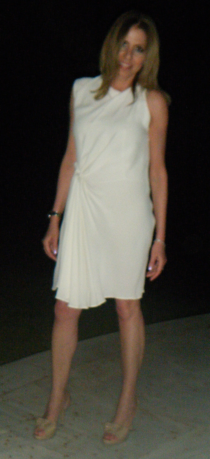 Nina Papaioannou, Dress PhilipLim, Shoes YSL Nude