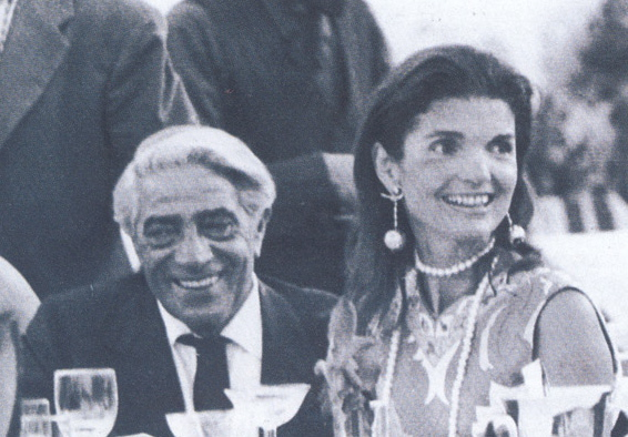 Aristotele Onassis and Jackie Kennedy Onassis