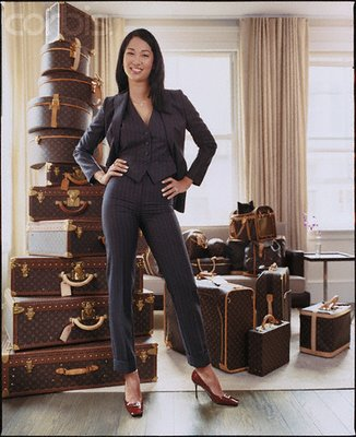 Kimora Lee Simmons and her Louis Vuitton Luggage Collection!!