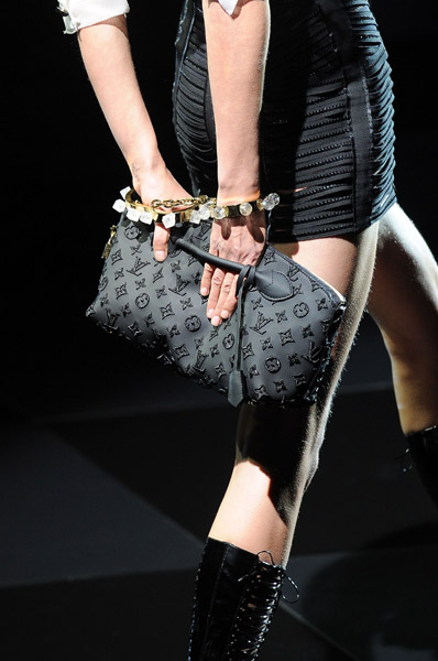 Louis Vuitton black handbag winter 2012