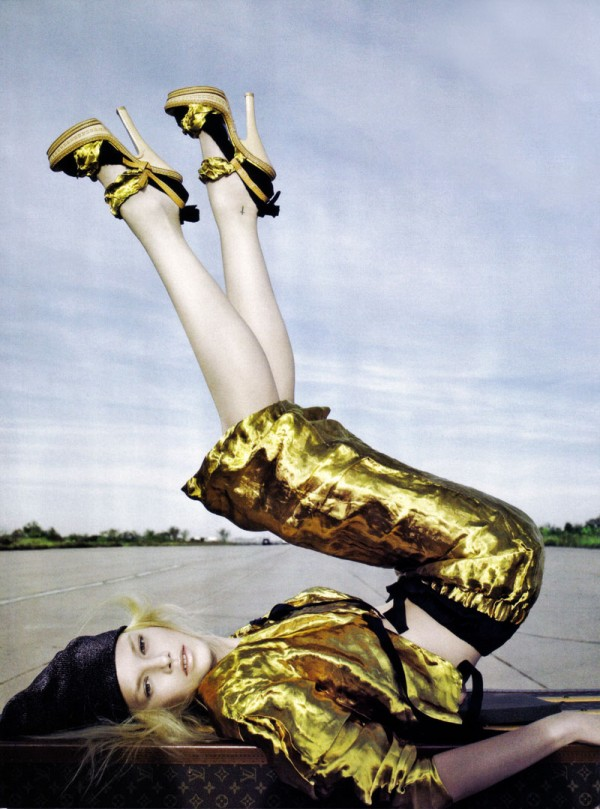 Photographer Richard Burbidge for Vogue