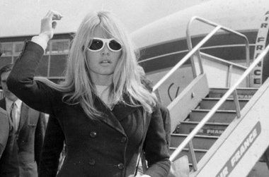 Brigitte Bardot style icon sunglasses