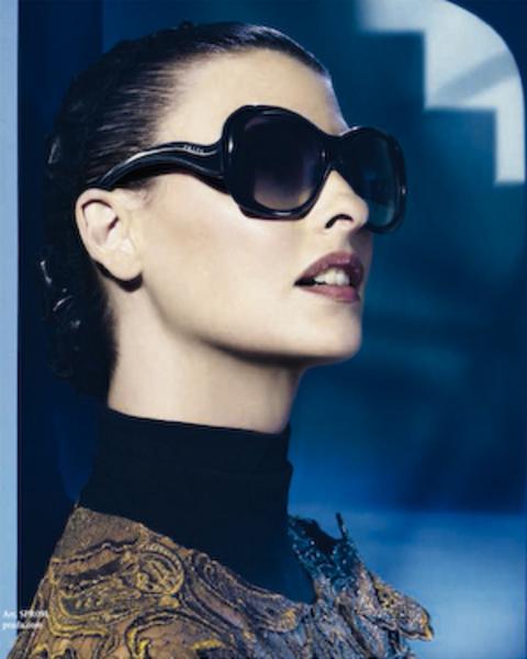 Linda Evangelista sunglasses