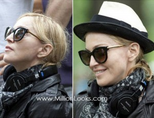 Madonna sets the Thierry Lasry Sunglasses Trend for 2011